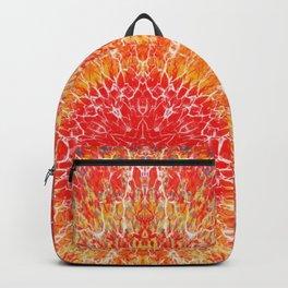 Flaming Star Mandala Backpack