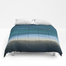 Dreamscape #7 blue-green Comforters