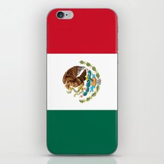 The Mexican national flag - Authentic high quality file iPhone & iPod Skin