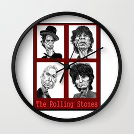 The Rolling Stones Wall Clock