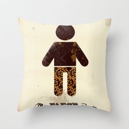 Mr. Fancy Pants Throw Pillow