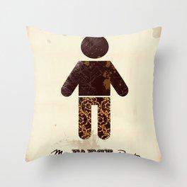 Mr. Fancy Pants Throw Pillow