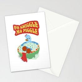 Fo Shiggle Ma Piggle Stationery Cards