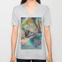 Butterfly Dance Unisex V-Neck