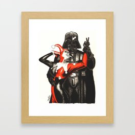 Twisted Romance Framed Art Print