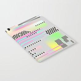 Glitch art effect Notebook