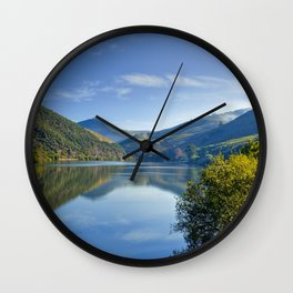 The Douro river, Portugal Wall Clock