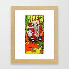 VIBRAS Framed Art Print