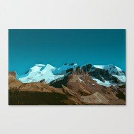 Mountain TT Canvas Print