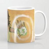 korra Mugs featuring Avatar Korra by Paula Urruti