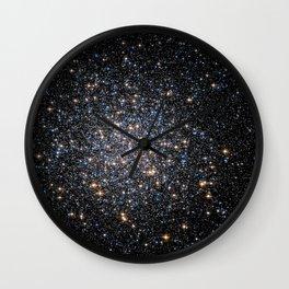 Glittery Starburst Wall Clock