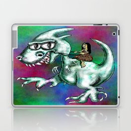 Prehistoric Modes of Transportation Laptop & iPad Skin