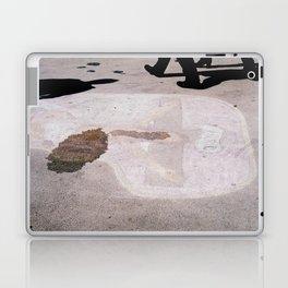 Jesus on a boardwalk Laptop & iPad Skin