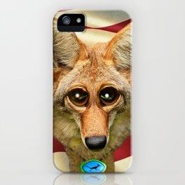 Patriotic Arizona GQ Coyote iPhone Case