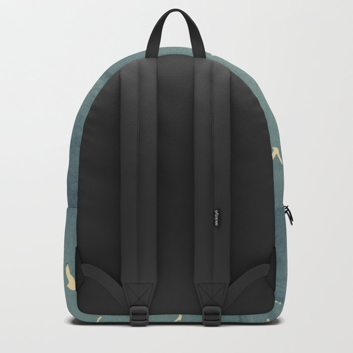typography Backpack