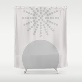 Geometric Form No.7 Shower Curtain