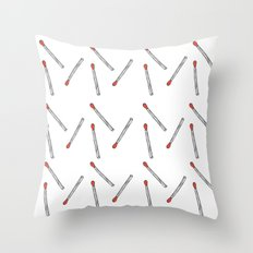 keep the flame  Throw Pillow