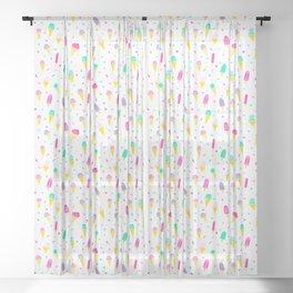 Summer Treats Sheer Curtain