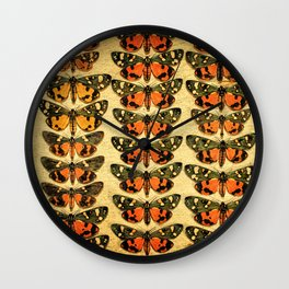 The Butterfly Collection 6 Wall Clock