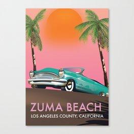 Zuma Beach Los Angeles County California Canvas Print