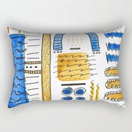 Tour Of The Factory Rectangular Pillow