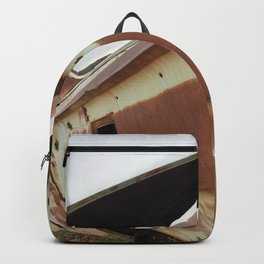 Rusty antique Impala Backpack