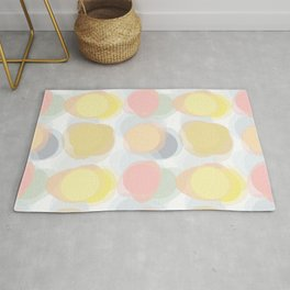 Colorspots of Yellow Rug