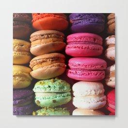 Macarons || Metal Print