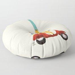 college days Floor Pillow