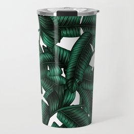 Banana leaves pattern. Travel Mug