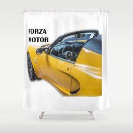 forza Shower Curtain