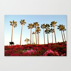 Hill Side View Canvas Print