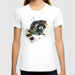 Raccoon - Splat T-shirt