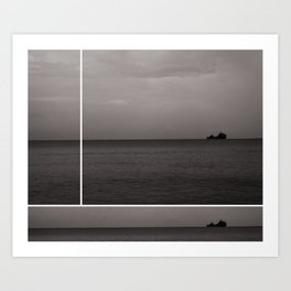 On The Horizon Art Print