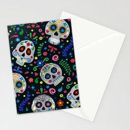 Dia De Los Muertos Calaveras/Sugar Skulls Stationery Cards