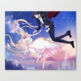 sailor moon love Canvas Print