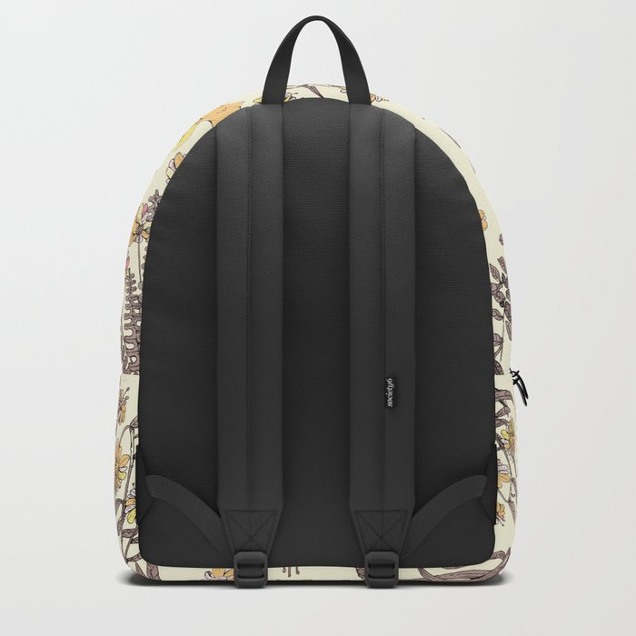 yellow garden Backpack
