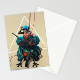 Ghost in the shell tribute Stationery Cards