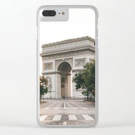 Arc de Triomphe / Paris, France Clear iPhone Case