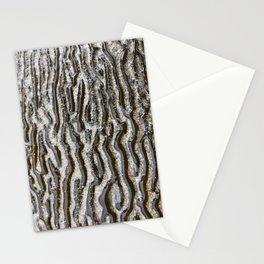 Textures by the sea Stationery Cards