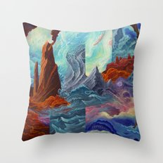 Transition Point Throw Pillow