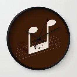 Quaverabbit Wall Clock