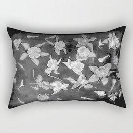 Aquilegia engraving Rectangular Pillow