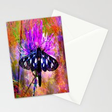 Butterfly fantasy vintage Stationery Cards