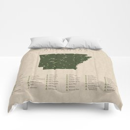 Arkansas Parks Comforters