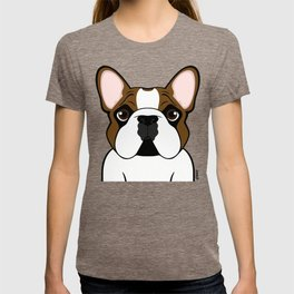 Frenchie - Fawn Pied T-shirt