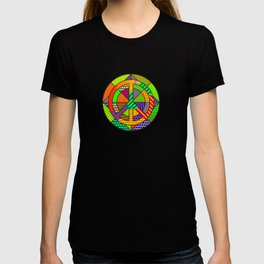 Peace #11– PoP Art T-shirt
