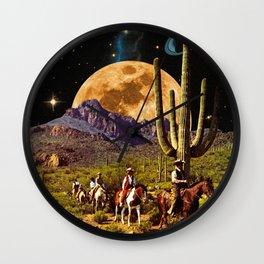 Space Cowboys Wall Clock