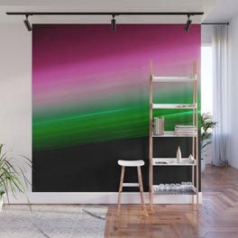Pink Green Ombre Wall Mural