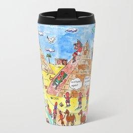 Scene in  ancient Egypt Travel Mug